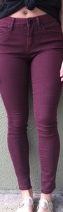 Articles of Society skinny Maroon Jeans